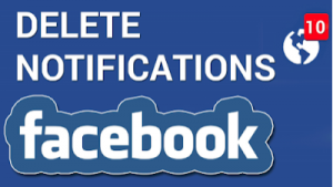 Erase Notifications On Facebook