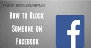 HOW TO BLOCK UNBLOCK